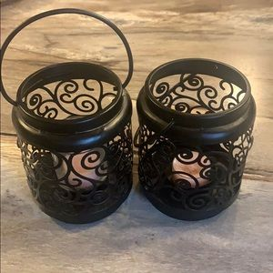 Yankee candle holders